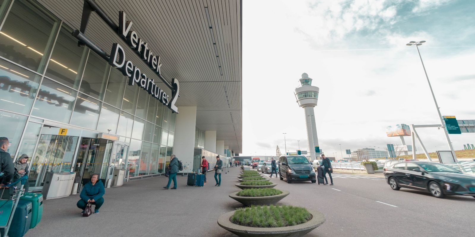 airports near amsterdam schiphol