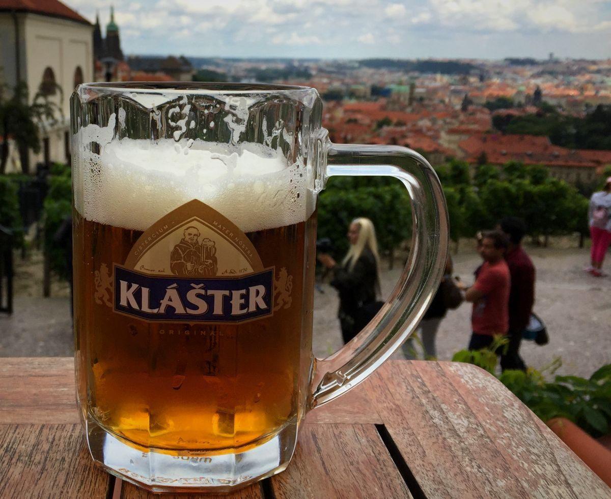2018 European travel review: Prague monastery beer