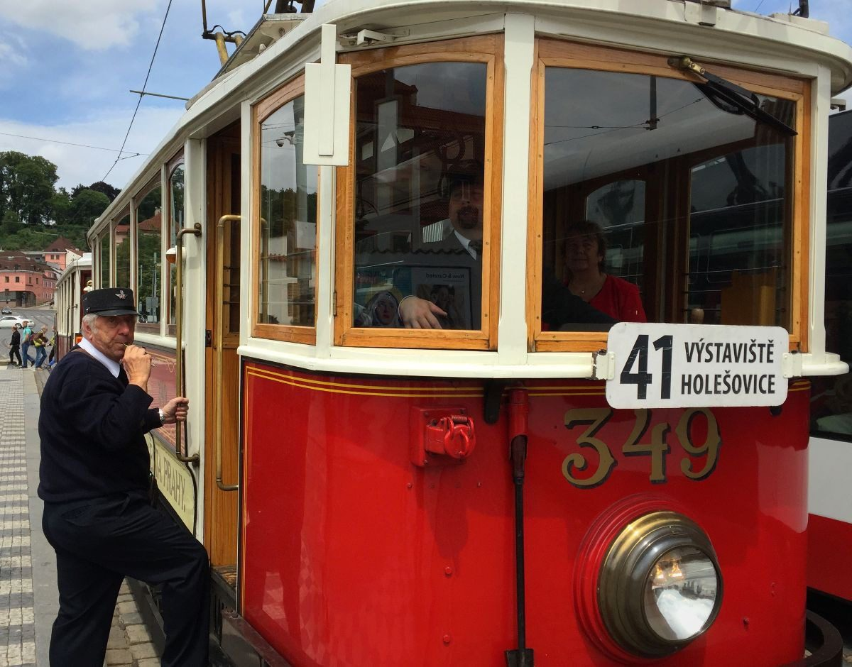 2018 European travel review: Historic trolley Prague