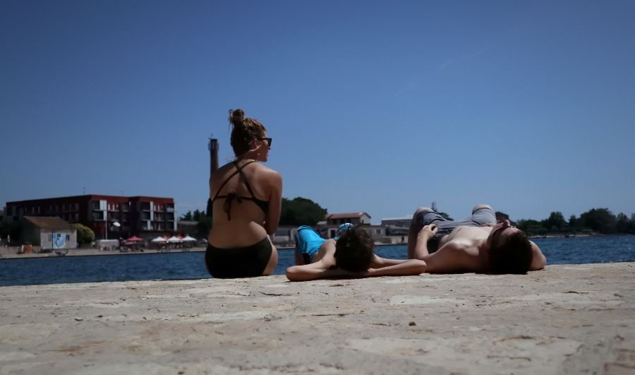 2018 European travel review: Sunbathing after a fresh-caught fish lunch in Umag