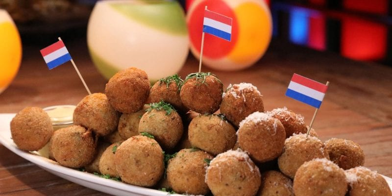 "Amsterdam's ""bitter"" bar snacks: <i>Bitterballen</i> and <i>Bittergarnituur</i>"