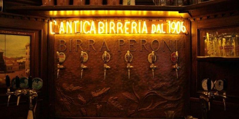L'Antica Birreria Peroni in Rome