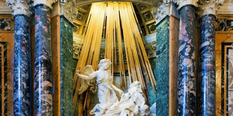 Ecstasy of St. Theresa in Rome