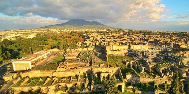 Rome to Pompeii day trip