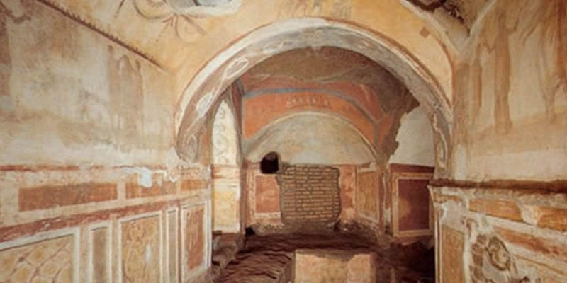 Catacombs of Priscilla in Rome