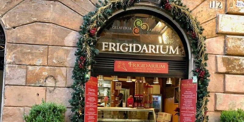 Frigidarium gelato rome