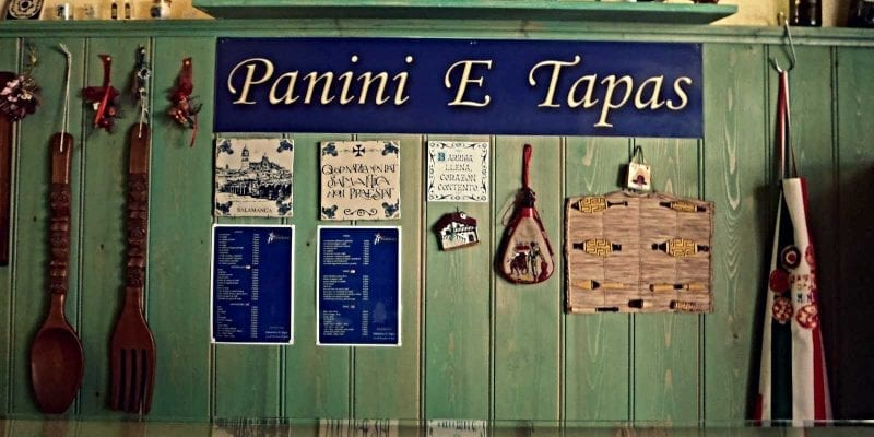 Rome restaurant PanDivino matches traditional Italian fare with Spanish favorites like tapas and paella.