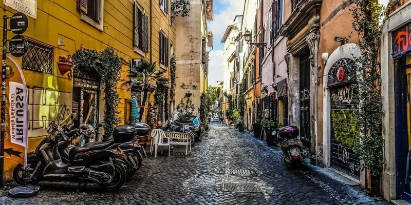 Trastevere and Monteverde are two of Rome's best neighborhoods.