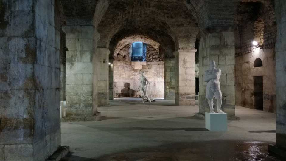 Game of Thrones filming locations in Europe: Crypt of Diocletian's Palace