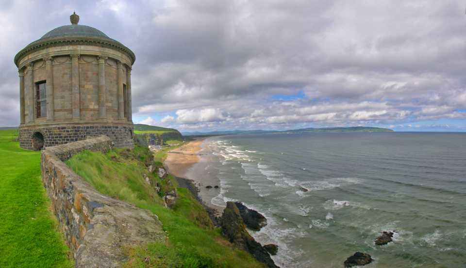 Game of Thrones filming locations in Europe: Mussenden Temple