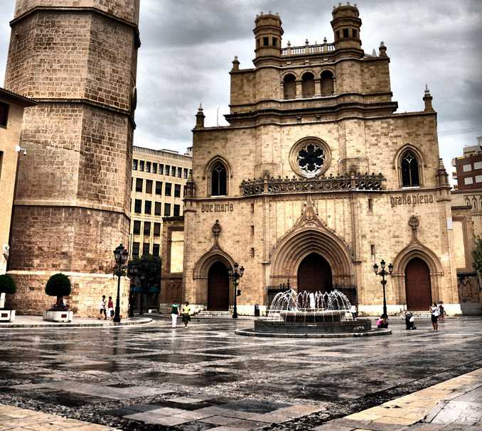 Game of Thrones filming locations in Europe: Plaza Santa María