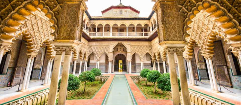 Game of Thrones filming locations in Europe: Real Alcázar Palace, Sevilla