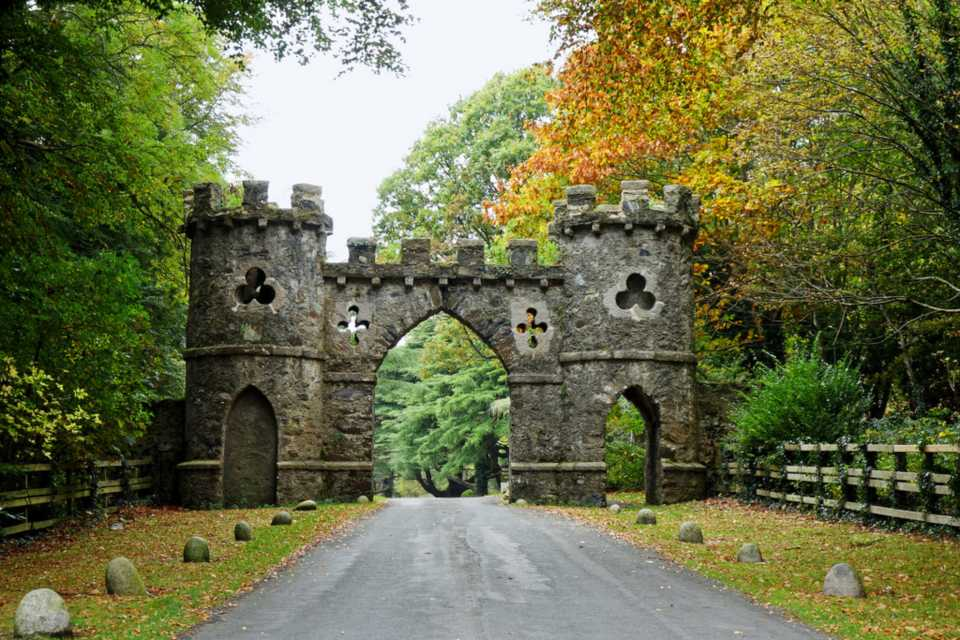 Game of Thrones filming locations in Europe: Tollymore Forest Park