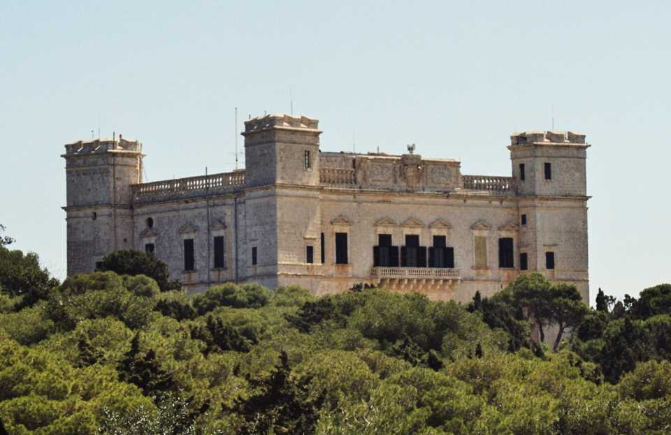 Game of Thrones filming locations in Europe:: Verdala Palace