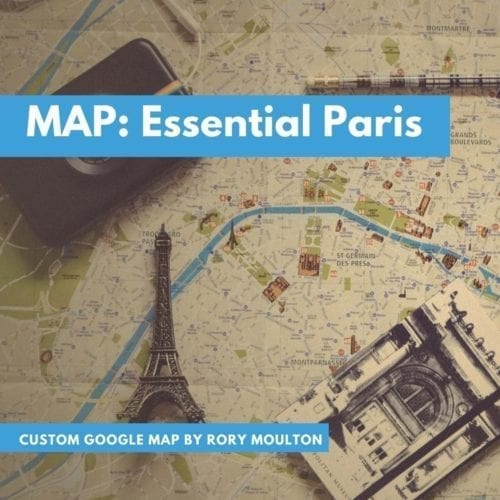 Essential Paris Travel Tips Google map download by Rory Moulton